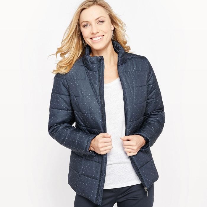 фото Куртка стеганая с рисунком, обработанная пропиткой teflon ANNE WEYBURN