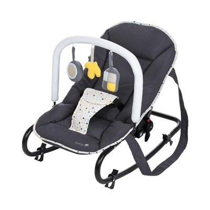 safety 1st le transat koala lit b b gris safety first la redoute. Black Bedroom Furniture Sets. Home Design Ideas