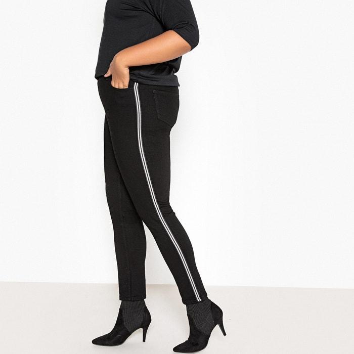 Jean slim, bandes côtés jambes  CASTALUNA image 0