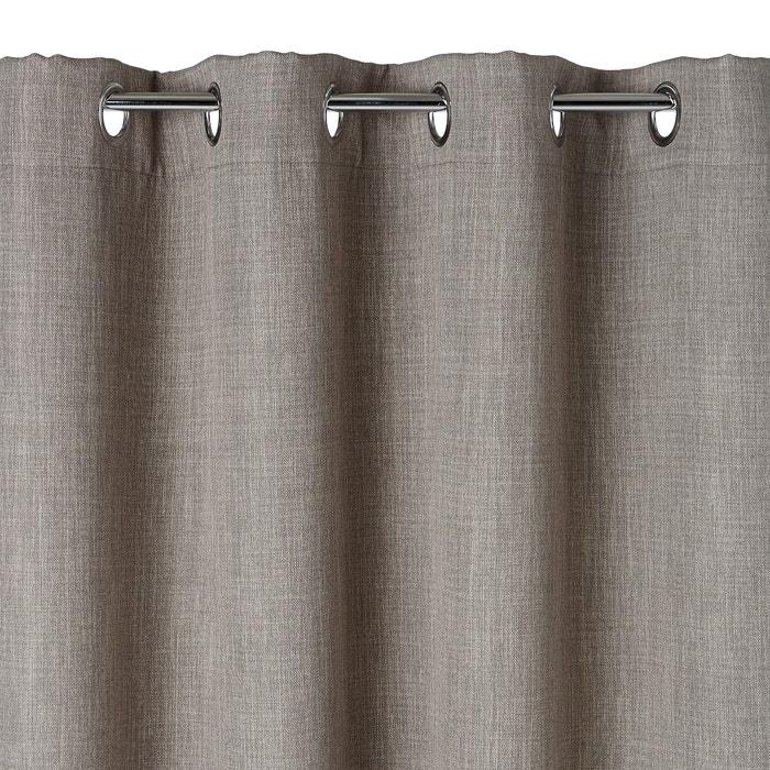 Image Exurie Blackout Single Eyelet Curtain La Redoute Interieurs
