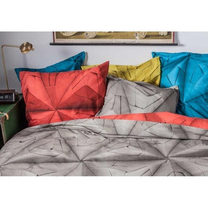 Parure de lit 140x200 monogami rouge nordic factory la redoute - La redoute parure de lit ...