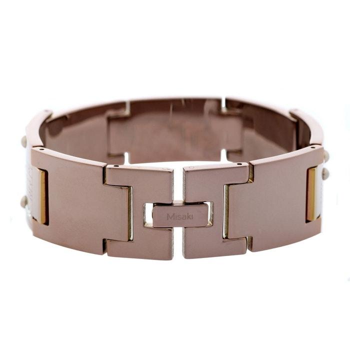 Bracelet bionic qcrbbionic marron Misaki | La Redoute Vente Images Footlocker 5CY9XZZR