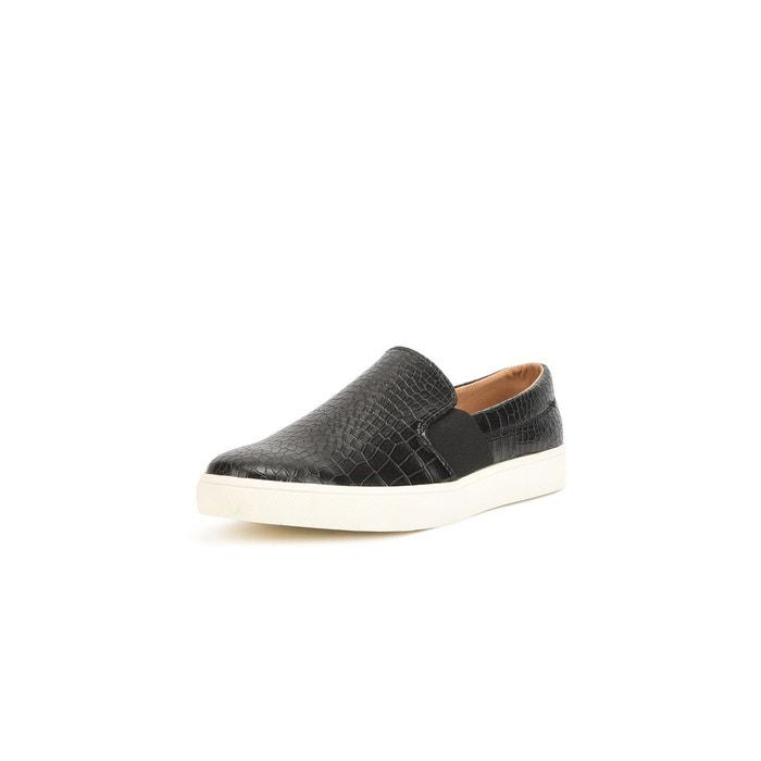 Mocassins façon slippers  noir Reservoir Shoes  La Redoute