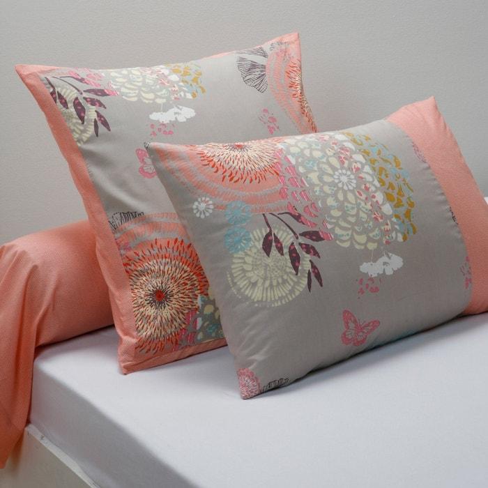 Image ELARA Cotton Single Pillowcase or Bolster Case La Redoute Interieurs