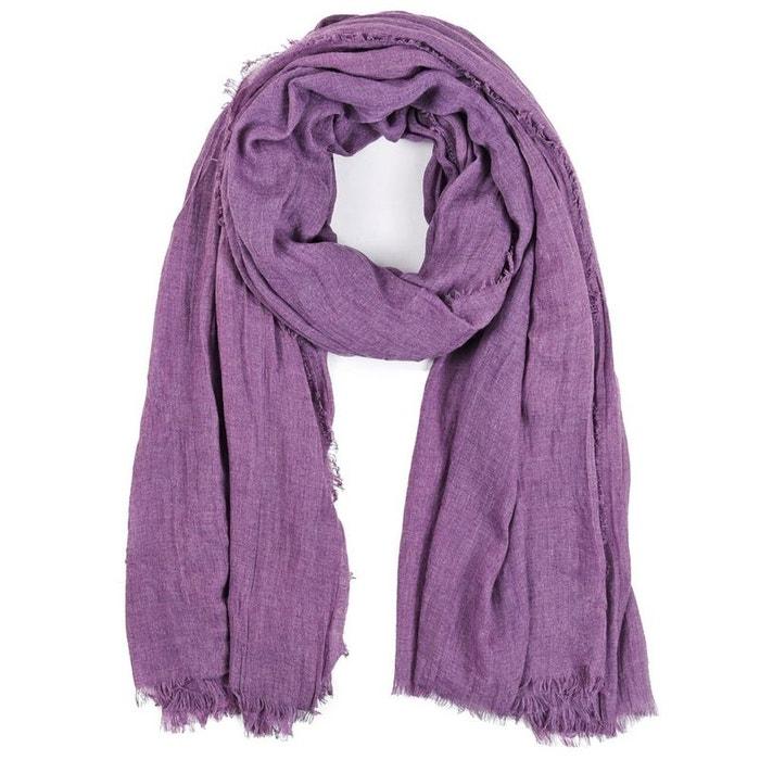 Chèche  touch  viscose violette violet Allee Du Foulard   La Redoute f19a5a12c36