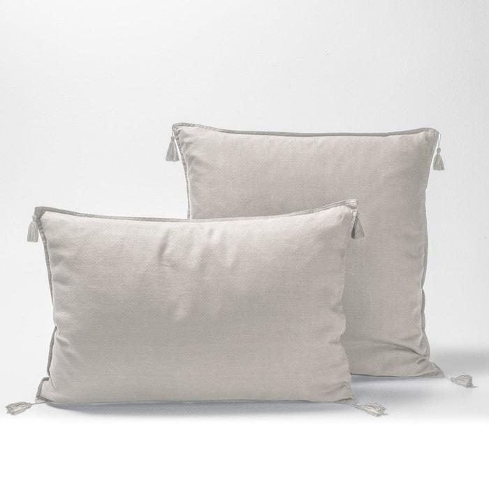 carly pre washed linen single pillowcase am pm la redoute. Black Bedroom Furniture Sets. Home Design Ideas