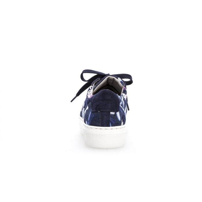 Baskets imprimé floral bleu Gabor