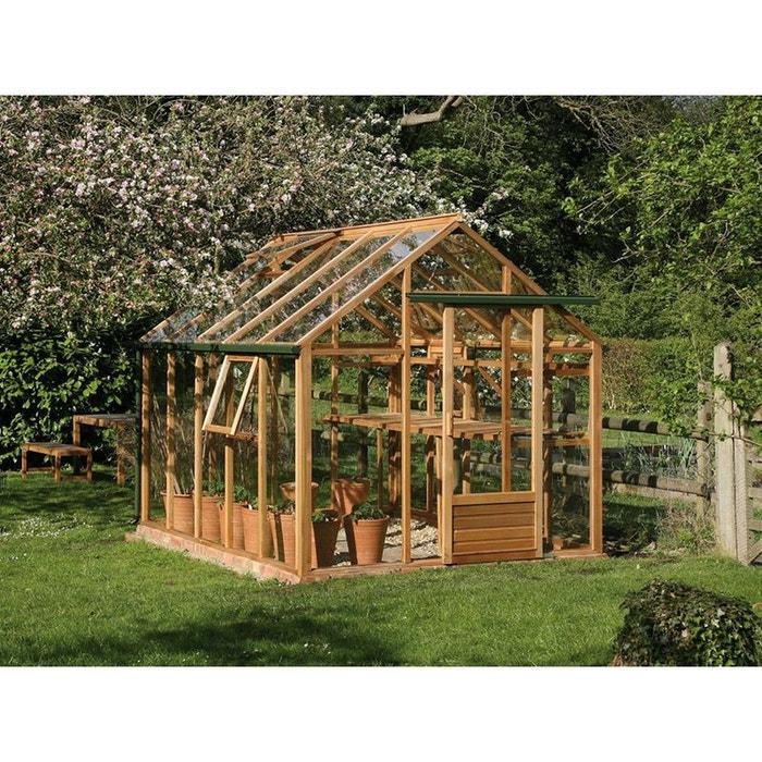 serre verre classic 7 2 m 2 99 x 2 41 x 2 50 m couleur unique habitat et jardin la redoute. Black Bedroom Furniture Sets. Home Design Ideas
