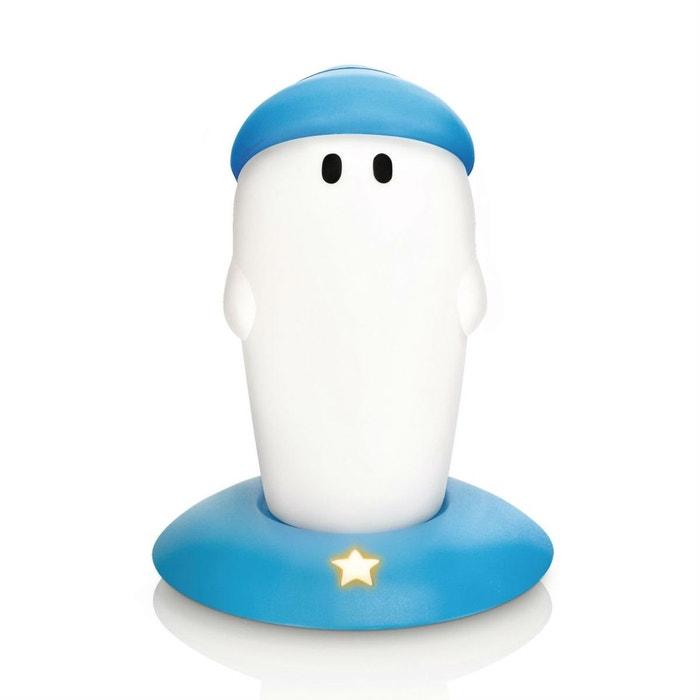 littlebro veilleuse portable rechargeable bonhomme bleu h15 4cm bleu philips la redoute. Black Bedroom Furniture Sets. Home Design Ideas