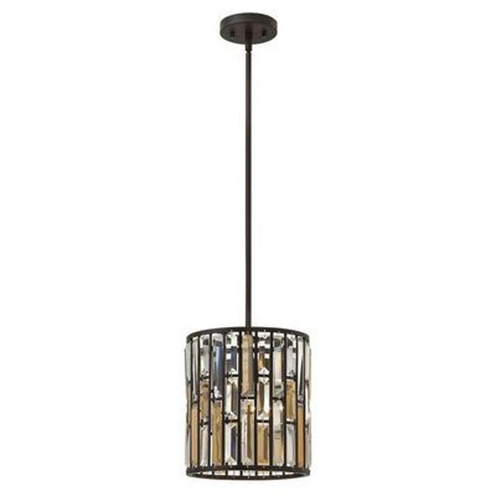 suspension gemma 1x100w bronze noir hinkley hkgemmapavbz hinkley la redoute. Black Bedroom Furniture Sets. Home Design Ideas