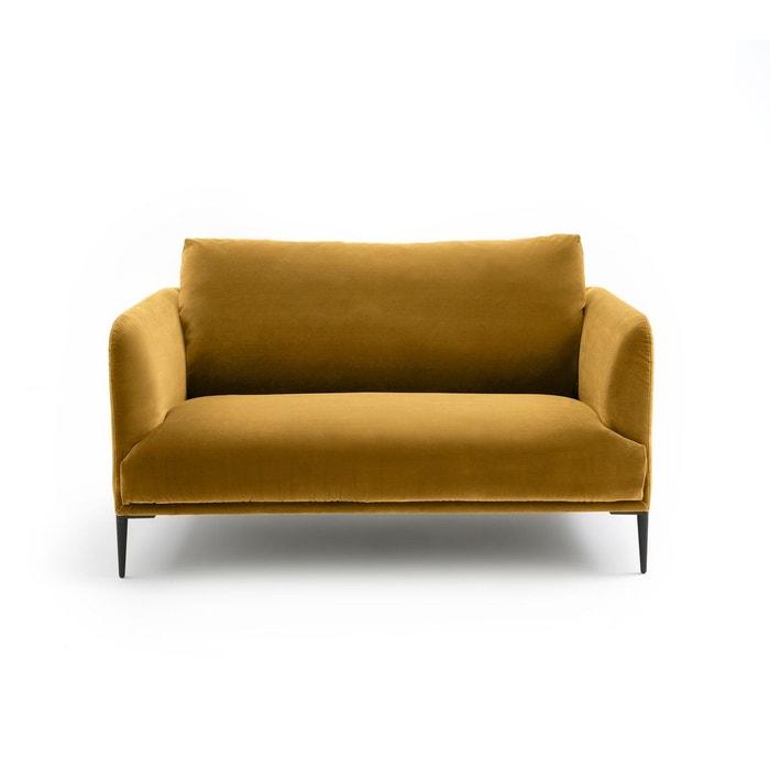 canap 2 places velours oscar design e gallina am pm. Black Bedroom Furniture Sets. Home Design Ideas