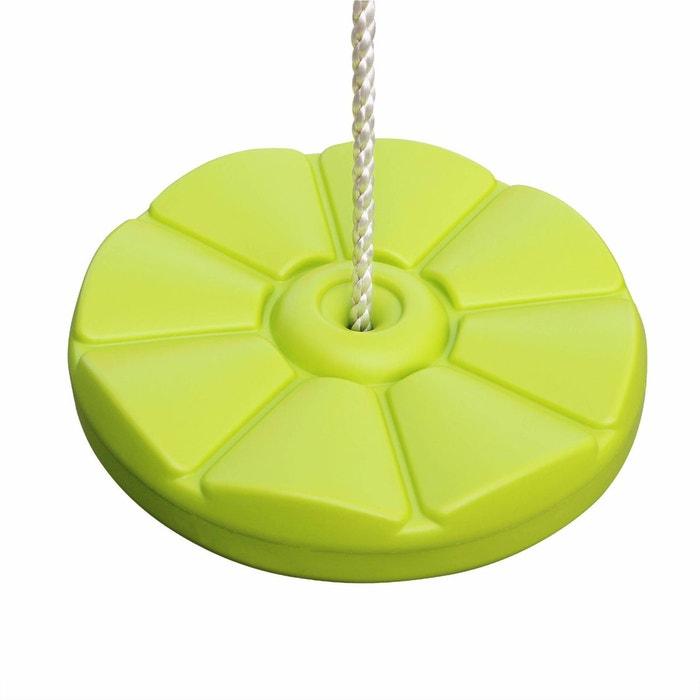 Balan oire disque en plastique souffl pour portique de 2 2 2m agr s accessoire vert pomme - Accessoires de balancoire ...