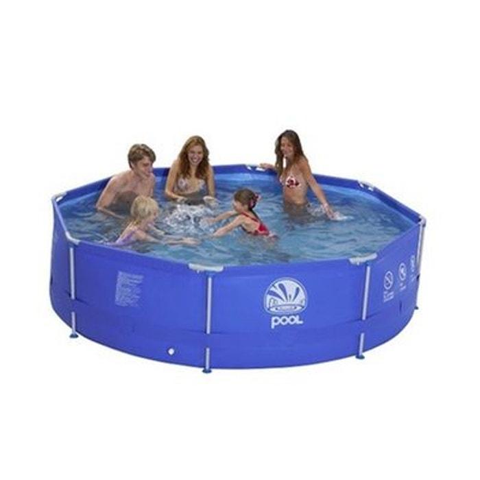 piscine tubulaire ronde 360 x 76 cm couleur unique jilong. Black Bedroom Furniture Sets. Home Design Ideas