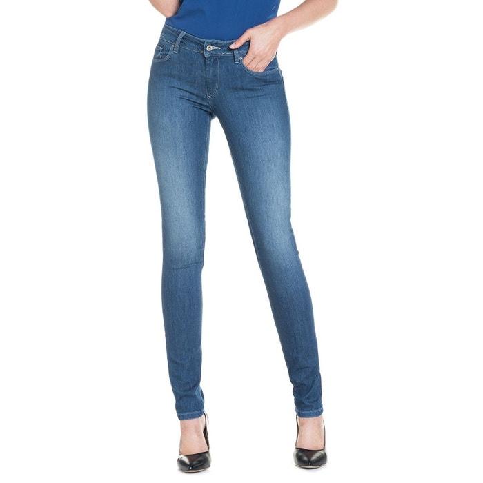 pantalons wonder push avec taille moyenne bleu salsa la redoute. Black Bedroom Furniture Sets. Home Design Ideas
