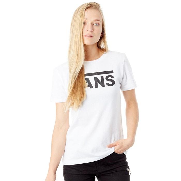 abf30e35bbf80 Tee shirt femme flying v blanc Vans   La Redoute