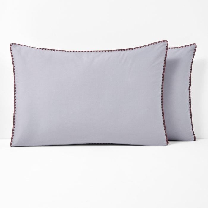 Merida Embroidered Pillowcase  La Redoute Interieurs image 0