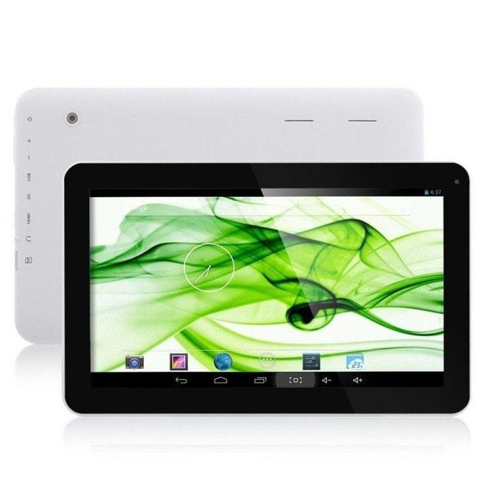 tablette tactile 10 pouces android jellybean 4 2 dual core 8go blanc yonis la redoute. Black Bedroom Furniture Sets. Home Design Ideas