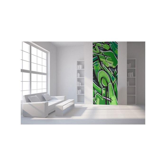 Papier peint lé unique tag vert vert Lgd01 | La Redoute