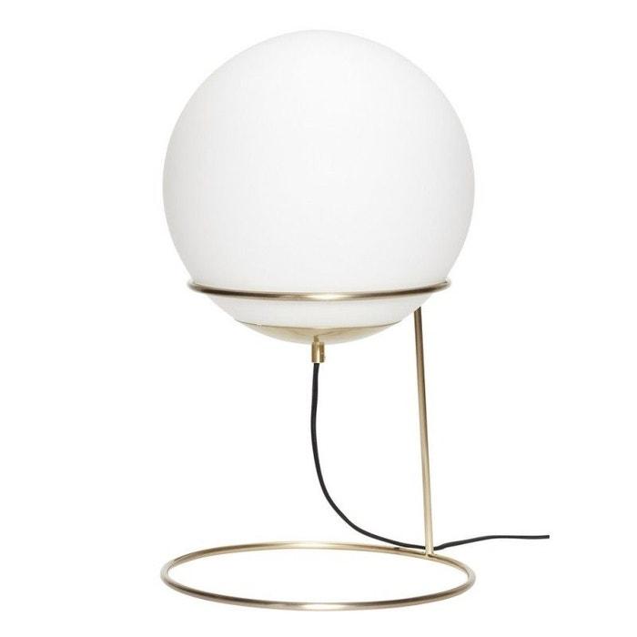 Lampe A Poser Retro Boule Blanc Hubsch La Redoute