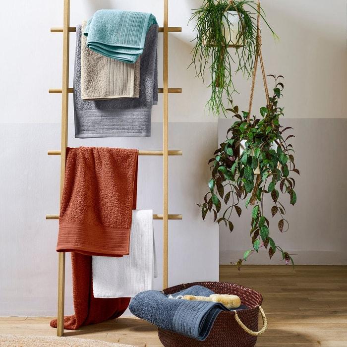 serviettes de toilette ponge coton bio lot de 2 scenario la redoute. Black Bedroom Furniture Sets. Home Design Ideas