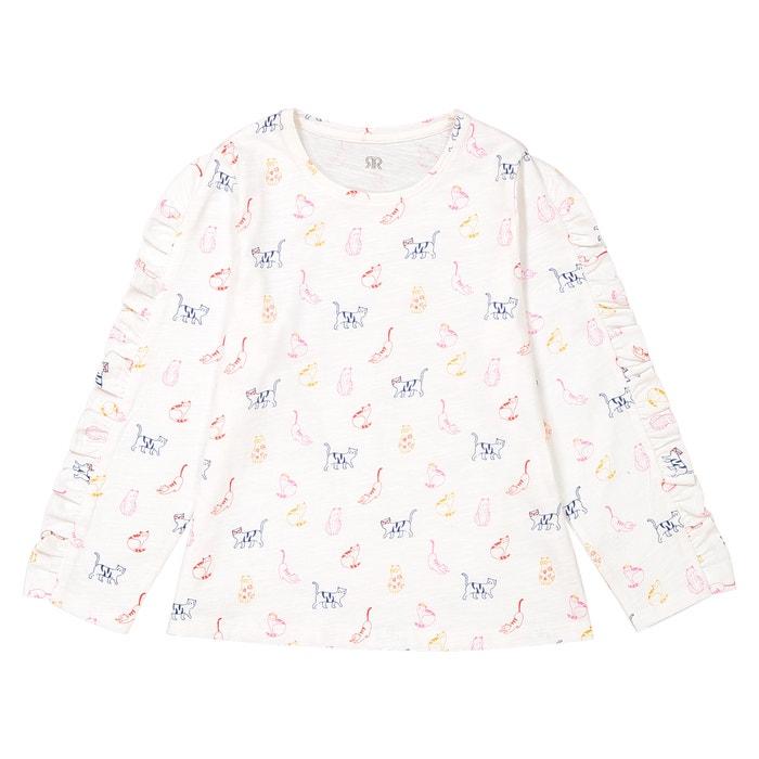 "T-shirt lange mouwen ""kat""  La Redoute Collections image 0"
