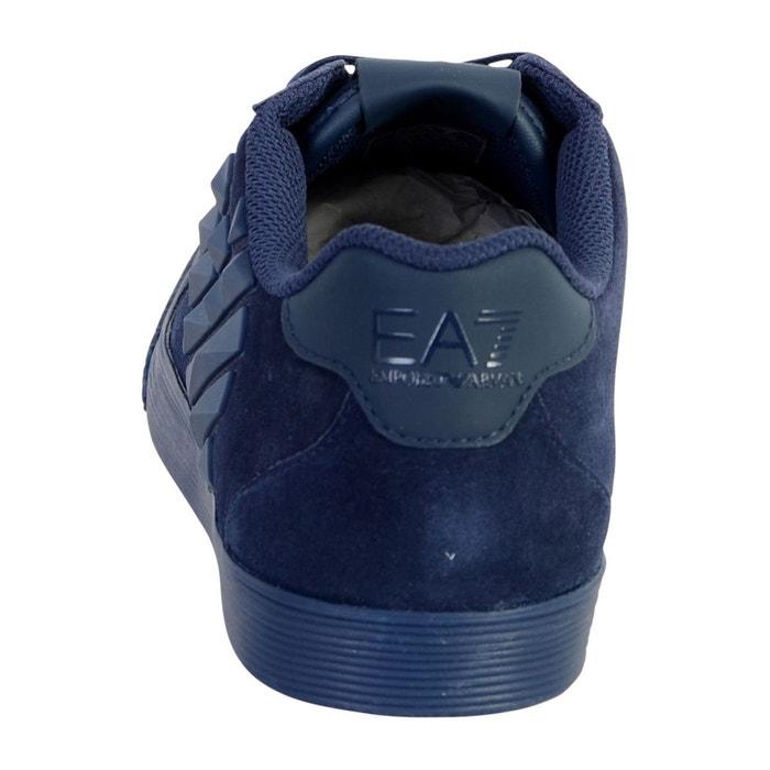 Basket ea7 pride low transformers u bleu Emporio Armani