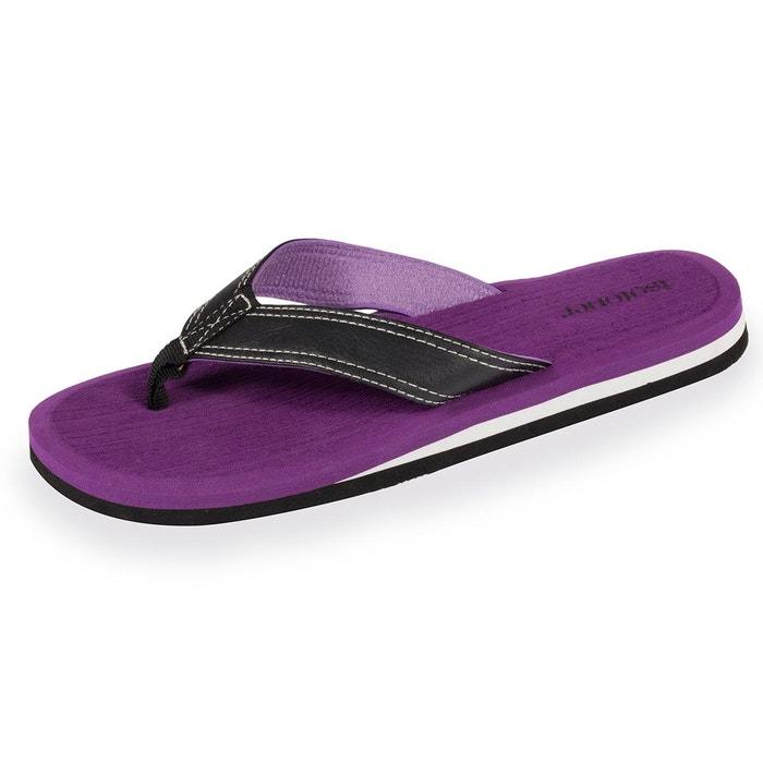 Tongs femme violettes  violet Isotoner  La Redoute