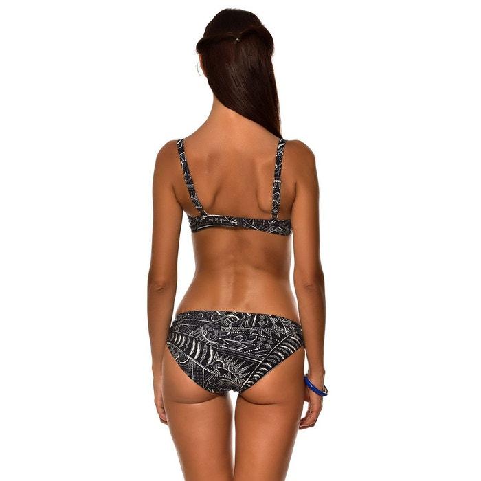 LIVIA Haut de maillot imprime inspiration wax SASKIA LOMBOK Bonnet C 100% Authentique Prix Pas Cher Mode À Vendre Acheter Style De Mode Pas Cher PDWsH47