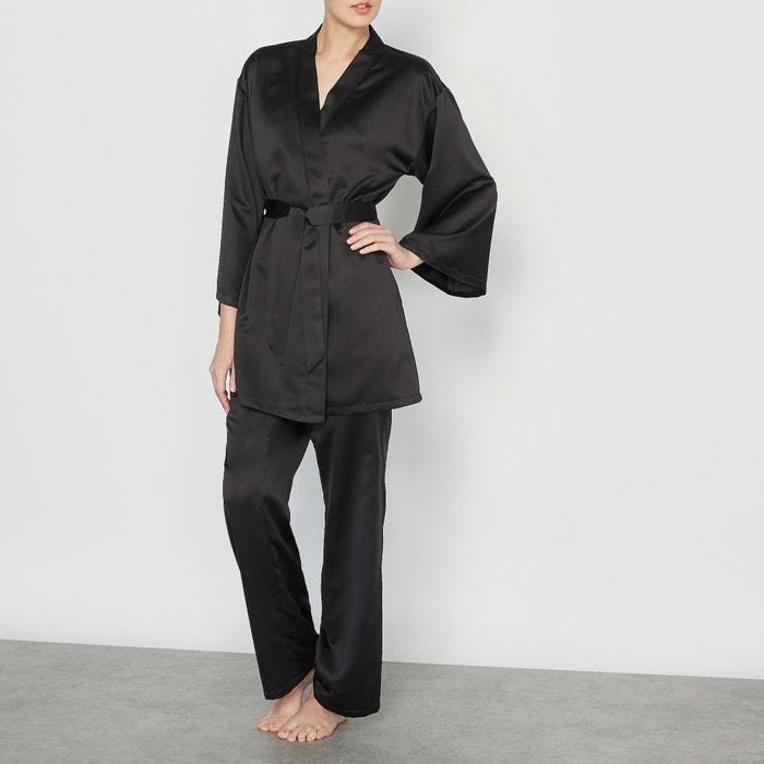 afbeelding 3-delige pyjama in satijn LOUISE MARNAY