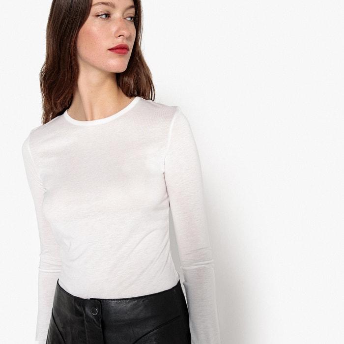 T-shirt scollo rotondo maniche lunghe  La Redoute Collections image 0