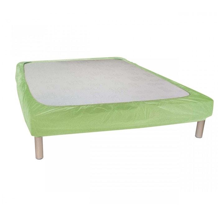cache sommier granny bande enveloppante vert terre de. Black Bedroom Furniture Sets. Home Design Ideas