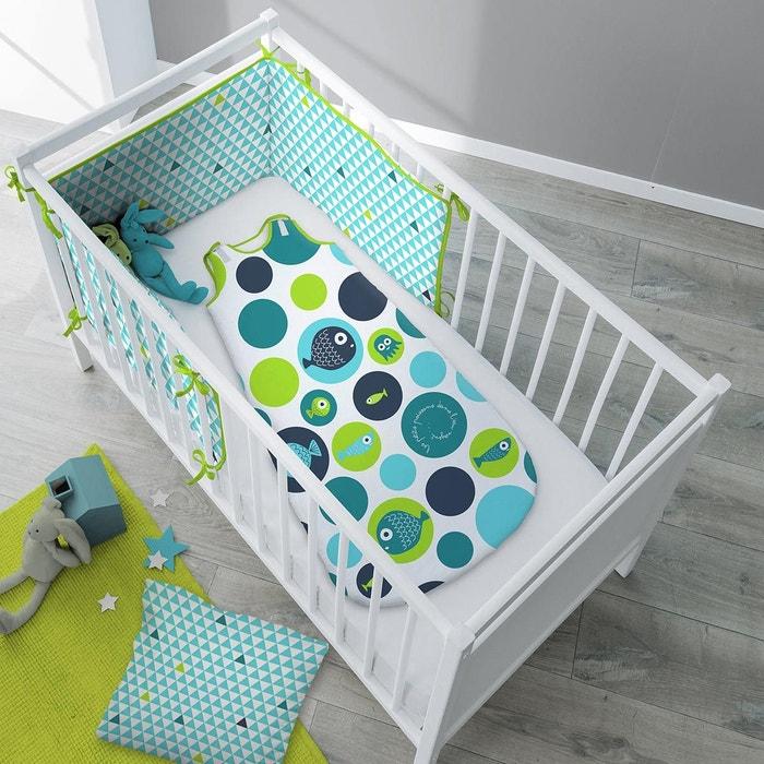 gigoteuse hiver coton p 39 ti poisson bleu vert selene et. Black Bedroom Furniture Sets. Home Design Ideas