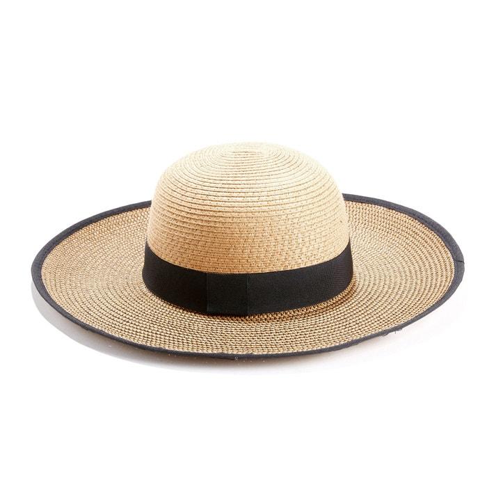 Chapéu de palha  La Redoute Collections image 0