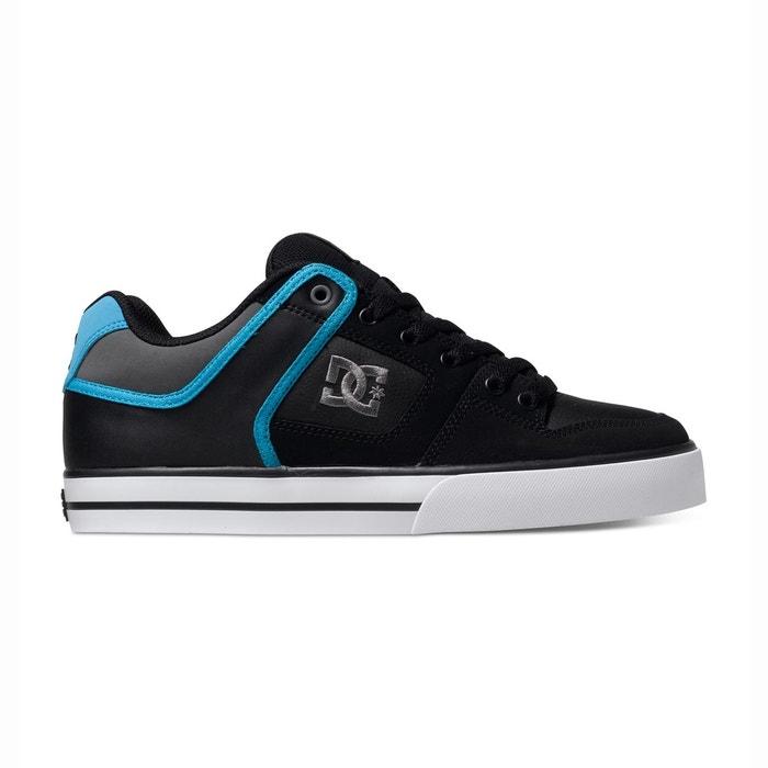 Dc shoes pure m shoe xkbs noir - gris - bleu Dc Shoes