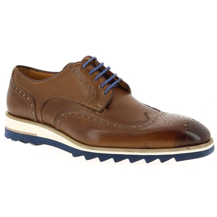 Chaussures à lacets flecs h670 692  marine/marron Flecs  La Redoute