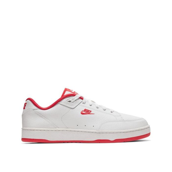 reputable site e1601 95e39 Baskets grandstand ii blanc rouge Nike   La Redoute