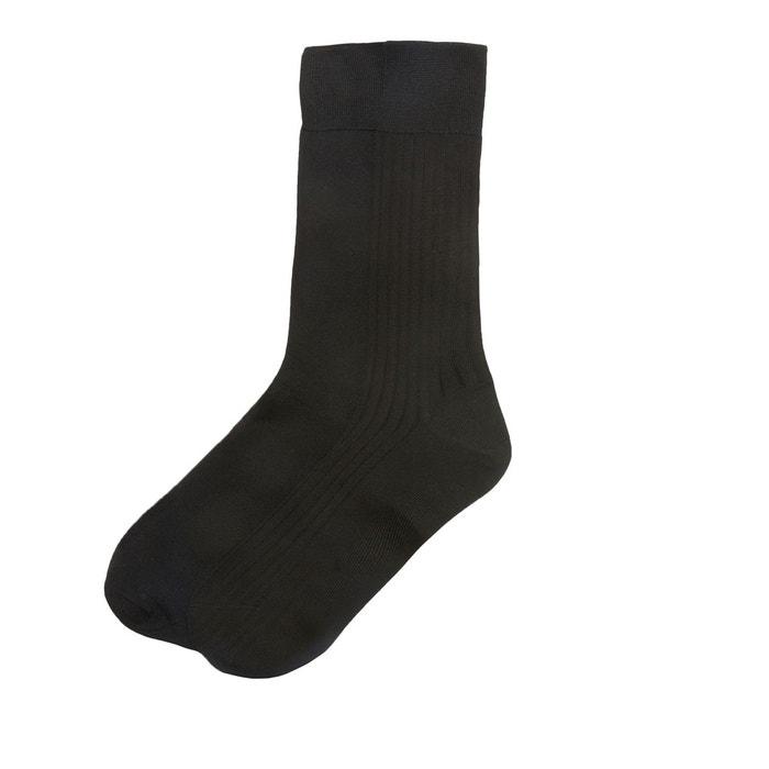 e0144d5e591e7 Lot de 2 paires de chaussettes en fil d'écosse LA REDOUTE COLLECTIONS image  0