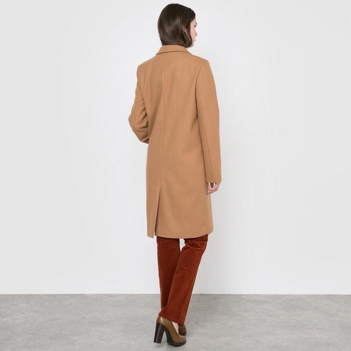 60 La largo Collections lana Redoute cuello con sastre Abrigo rw0trORq