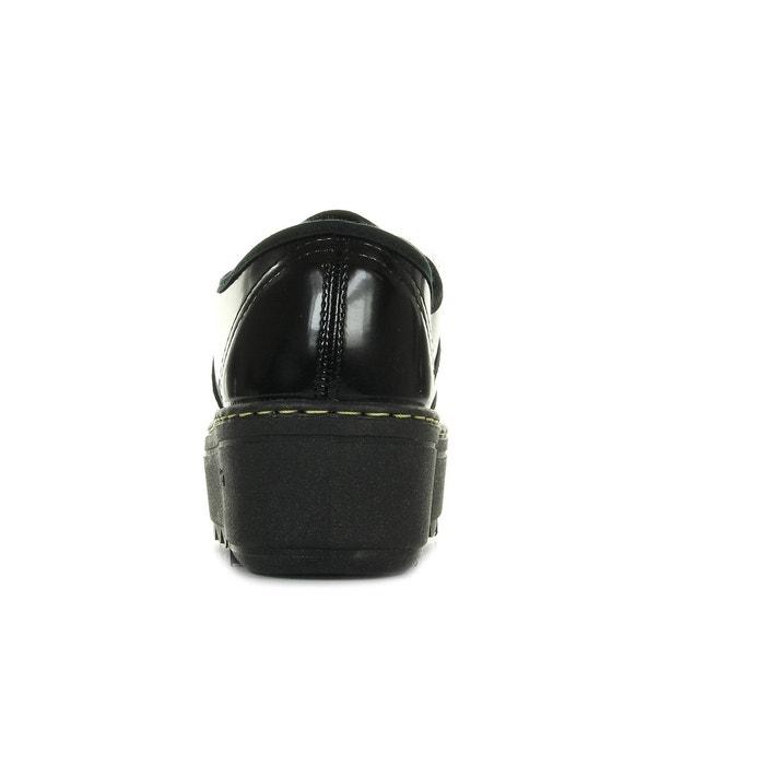 Basket florentic pu noir Victoria