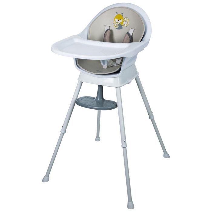 chaise haute 3 en 1 honey forest gris tigex la redoute. Black Bedroom Furniture Sets. Home Design Ideas