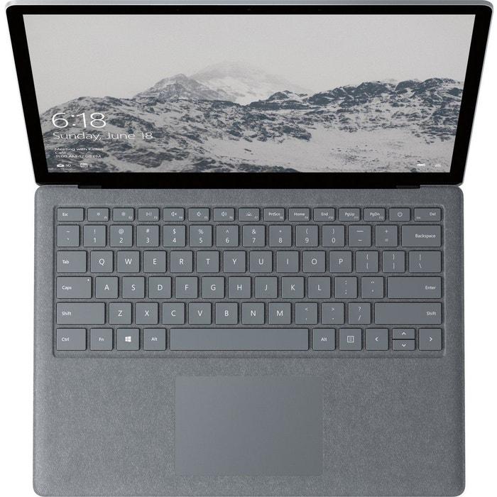 ordinateur portable microsoft surface laptop i7 512go silver microsoft la redoute. Black Bedroom Furniture Sets. Home Design Ideas