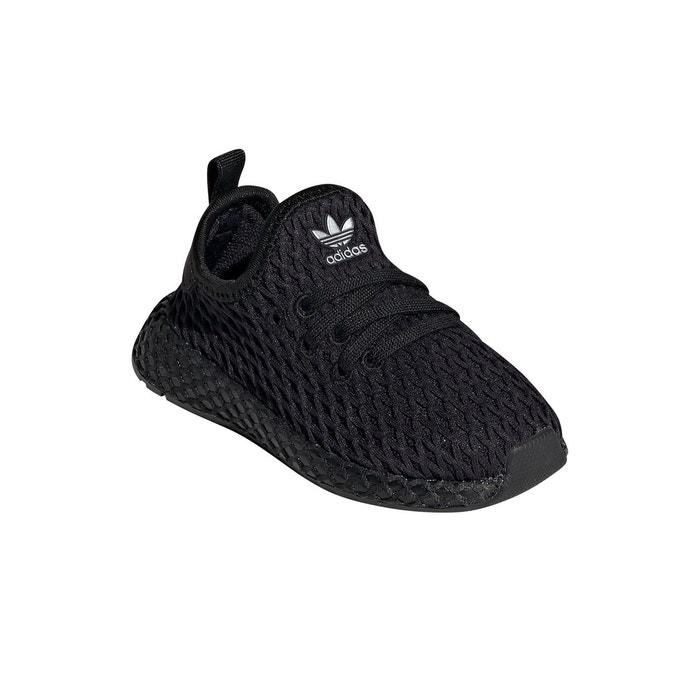 sports shoes 529af 88265 Chaussures deerupt runner noir noir blanc Adidas Originals   La Redoute