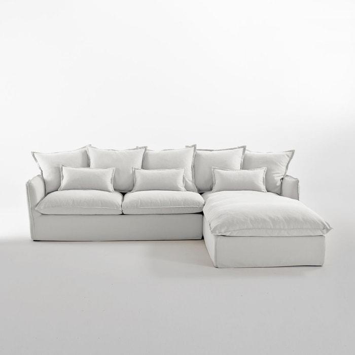 Canapé Angle Convertible Coton/Lin Bultex, Odna La Redoute