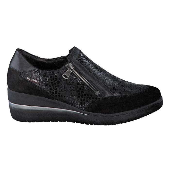 Chaussures pupina noir Mephisto Prix boutique Pas Cher m1rzEkb