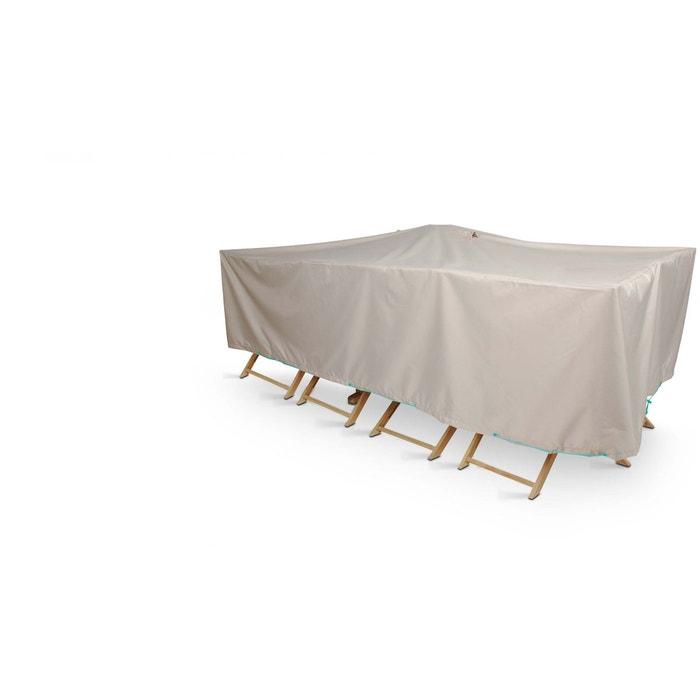 Housse salon de jardin 310 x 130cm, cov\'up gris Oviala | La Redoute