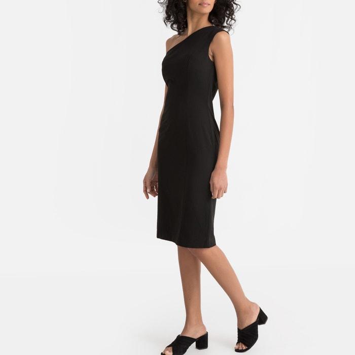 02354348eb5aaa Asymmetrische jurk bodycon zonder mouwen