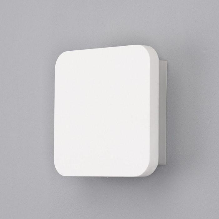 applique led en pl tre gypsum moderne blanc lampenwelt la redoute. Black Bedroom Furniture Sets. Home Design Ideas