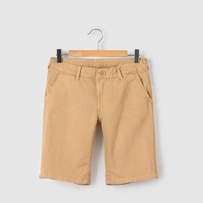 Canvas Bermuda Shorts, 8-16 Yrs  JAPAN RAGS image 0