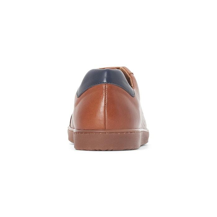 Collections Zapatillas con de Redoute cordones piel La Rvq65xH
