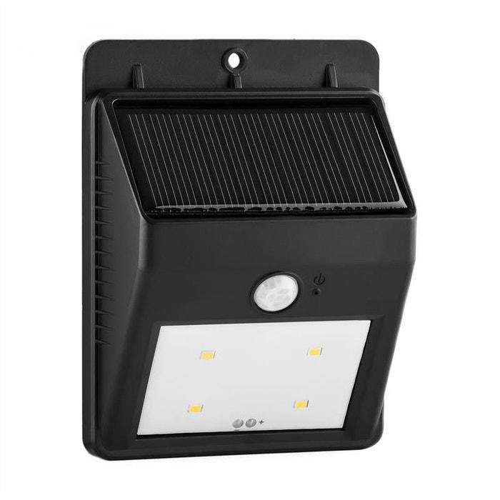 Solarlux Luminaire Solaire Du0027extérieur Détecteur De Mouvement 4 LED   Blanc  Chaud Sans Câble